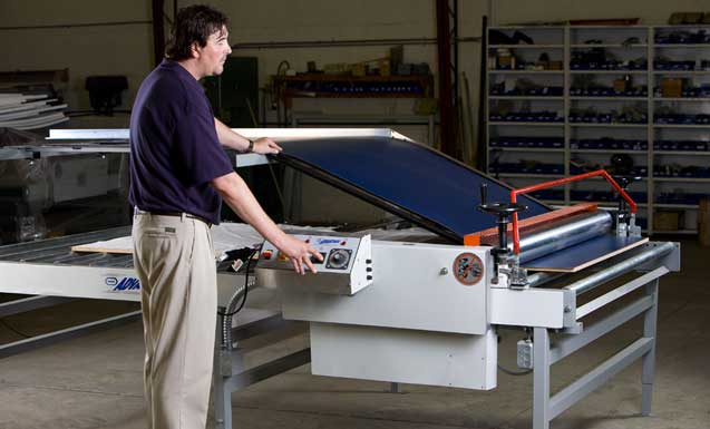 Advantage Laminating System in use