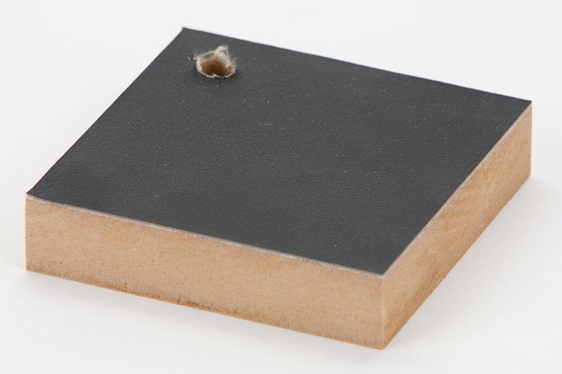 Samples of hot melt adhesive film lamination bonding for Furniture grade plywood