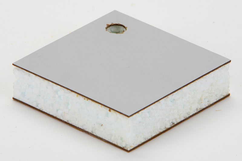 H P Laminate Bonded To Expanded Polystyrene
