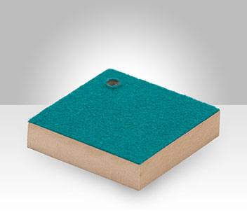 Pool Table Felt bonded to High Density Fiberboard