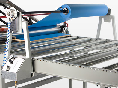 Roll Feed Lamination for Flexible Materials